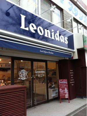 Leonidasチョコレートの路面店